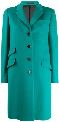 Paul Smith single-breasted midi coat