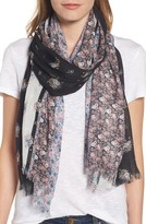 Rebecca Minkoff Women's Ditsy Floral Oblong Scarf
