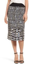 Nic+Zoe Women's Mixed Check Skirt