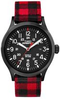 Timex Men's Expedition Scout Plaid Watch