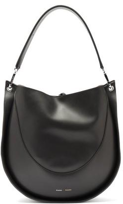 Proenza Schouler Hobo Large Leather Shoulder Bag - Black