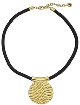 Sam Edelman Snake Disc Pendant Necklace