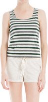 Max Studio Striped Tank Top