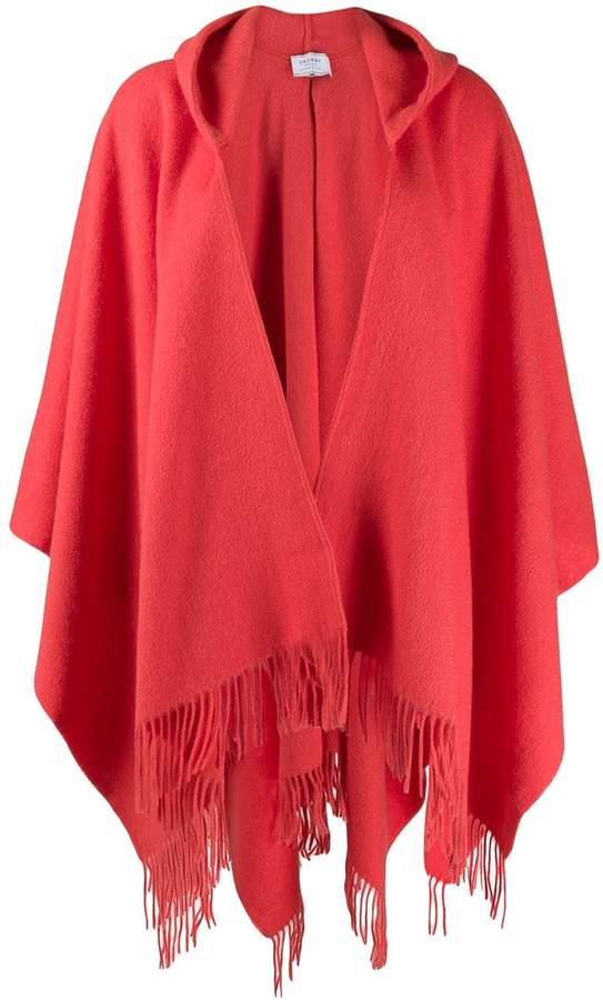 Snobby Sheep fringed hooded cardigan