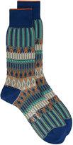 Ayame Multicoloured Basket Lunch patterned socks