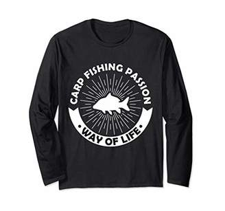 IDEA Gift for Fishermen Angling Passionate Carp Fishing Long Sleeve T-Shirt