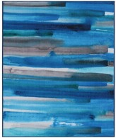 Rugsmith RugSmith Turquoise Cerulean Contemporary Modern Area Rug