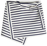 Carven Mini Wrap Skirt