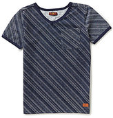 7 For All Mankind Big Boys 8-20 Striped Short Sleeve Tee
