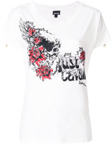 Just Cavalli logo motif T-shirt