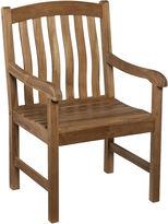 Asstd National Brand Bronson Outdoor Teak Armchair