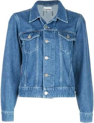 Ganni classic denim jacket
