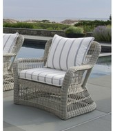 The Well Appointed House Kingsley Bate Southampton Wicker Lounge Chair-Available in Four Different Colors