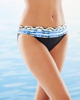 Soma Intimates Animal Instinct Shirred Hipster Swim Bottom