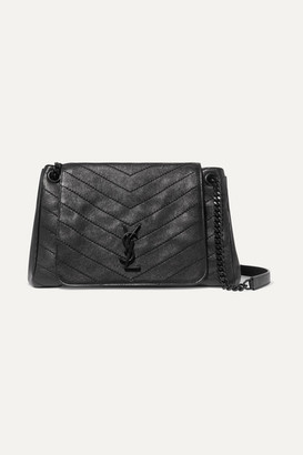 Saint Laurent Nolita Medium Quilted Leather Shoulder Bag - Black