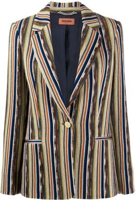 Missoni striped slim-fit blazer