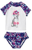 Gymboree Puppy 2-Piece Swim Set