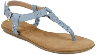 Aerosoles Cedar Grove Braided T-Strap Sandal