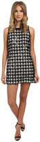 Rachel Zoe Zadie Houndstooth Lace Sequin Dress