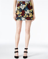 Rachel Roy Floral-Print Mini Skirt, Only at Macy's