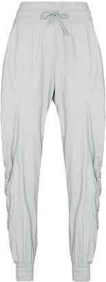 adidas by Stella McCartney Drawstring-Waist Gathered Track Pants