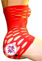 Gnews Bodystockings Mesh Big Fishnet Dress Style Body Stocking Bodysuit Nightwear Lingerie