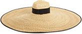 Gucci Oversized-brim straw hat