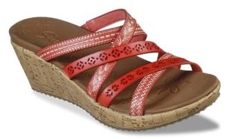 Skechers Cali Beverlee Tiger Posse Wedge Sandal