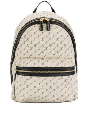 Stella McCartney monogram pattern backpack