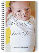 Minted Eat Sleep Poop Day Planner, Notebook, or Address Book