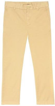 BURBERRY KIDS Cotton pants