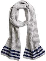 Brooks Brothers Tipped Cashmere Knit Scarf