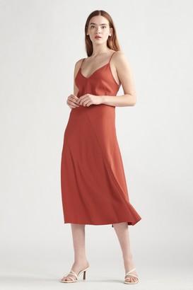 Thakoon Slip Dress Rust