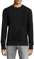 BLK DNM 61 Patch Crewneck Sweatshirt