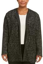 Marina Rinaldi Wool-blend Coat.