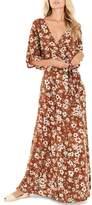 Faithfull The Brand Bergamo Maxi Wrap Dress