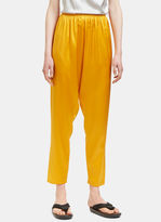 Base Range Baserange Women's Shankar Silk Pants in Gold