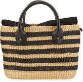 Muun Bony Stripes Crossbody Bag With Pouch
