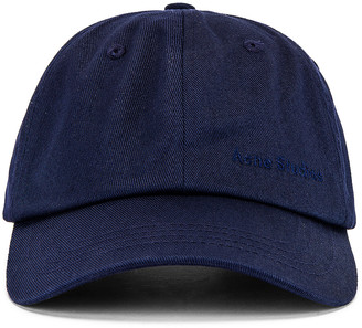 Acne Studios Cap in Navy Blue | FWRD