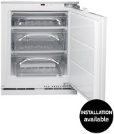 Hotpoint HZA1 81.5cm High 60cm Wide Integrated Under Counter Freezer