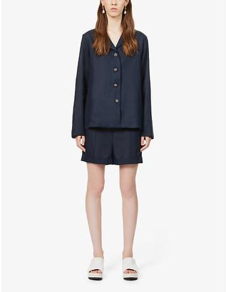 Sleeper Short linen pyjama set