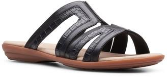 Clarks Ada Lilah Women's Leather Slide Sandals