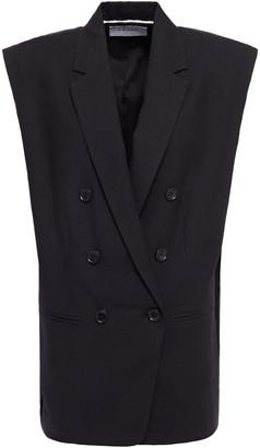 Frame Double-breasted Linen Vest