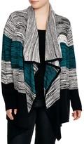 BB Dakota Plus Giada Striped Cardigan