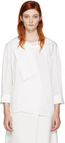 Enfold White Over Blouse