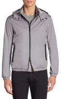Armani Collezioni Hooded Long Sleeve Jacket