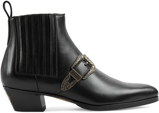 Gucci Ankle boot with buckle