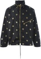 Palm Angels stars studded jacket - men - Polyamide/Polyurethane - XL