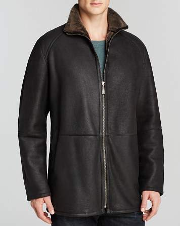 Maximilian Furs Maximilian Men's Shearling Coat