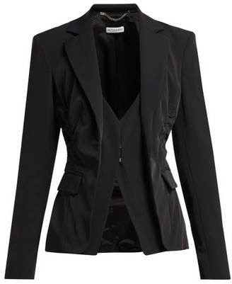Altuzarra Fossanova Single-breasted Cady Blazer - Womens - Black